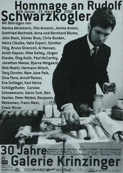 Rudolf Schwarzkogler - Hommage, Poster 1992.