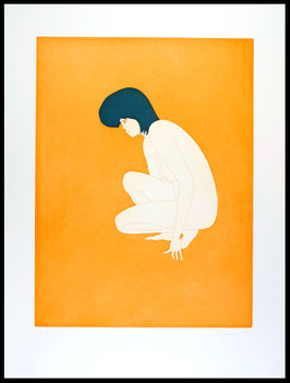 Hubert Schmalix - Sun (Edition / art print 1996).