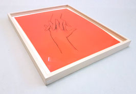 Artwork / Original: Lienbacher (Ulrike Lienbacher - o.T. / Hands) 2013.