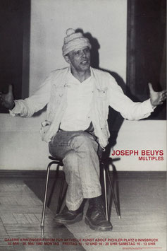 Poster (Beuys - Joseph Beuys - Multiples) 1982.