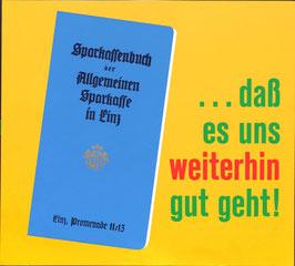 Poster (Traimer - Heinz Traimer: daß es uns weiterhin gut geht) Original Druck um 1957.