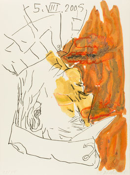 Georg Baselitz & Hans Hermann Set:  Imperia Suite (Edition / art prints2005).