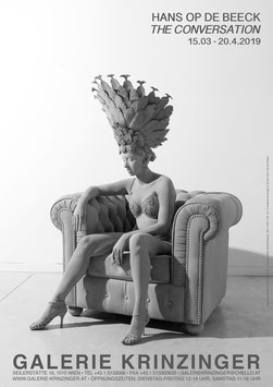 Hans Op de Beeck Hans - Revue Dancer, Poster 2019.