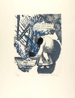 Raymond Pettibon - We are Drawn, vulgo Vavoom (Art Print / Edition 1992).