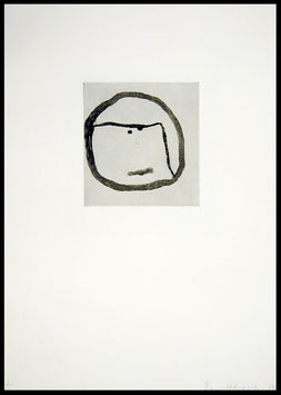 Edition: Baechler (Donald Baechler - Faces II) 1986.