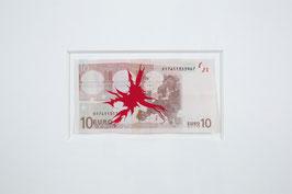 Christian Vind - o.T. / Euro (Original kunst / artwork 2006).