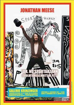 Poster (Meese - Jonathan Meese - Dr. No Sportarzahn 1) 2015