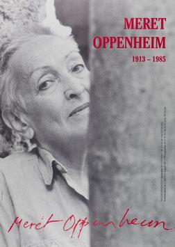 Meret Oppenheim - Retrospektive, Poster 1997.