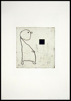 Donald Baechler - Family IV (Edition / Art print 1986).