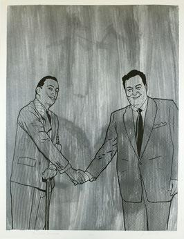 Edition: Shaw / Weissman (Jim Shaw & Benjamin Weissman - Gleason meets Dali) 1992.