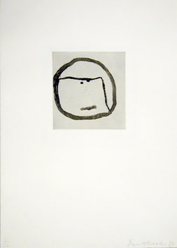 Edition: Baechler (Donald Baechler - Faces II) 1986.