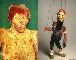 Edition / art print: McCarthy/Kelley (Paul McCarthy & Mike Kelley - Popular Figures / Red Head) 1992.