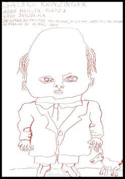 Oswald Oberhuber, Ausstellung Poster 1981.