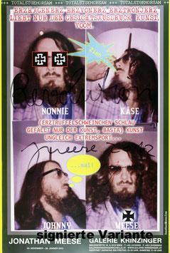 Poster (Meese - Jonathan Meese  - Erzhagenerz) 2013.