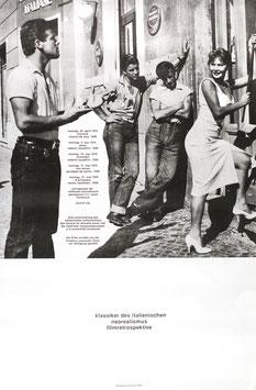 Klassiker des italienischen Neorealismus - Filmretrospektive,  Poster 1976.