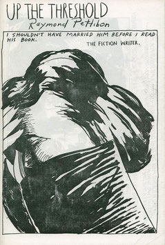 Pettibon (Raymond Pettibon - Up the Threshold) 1992.