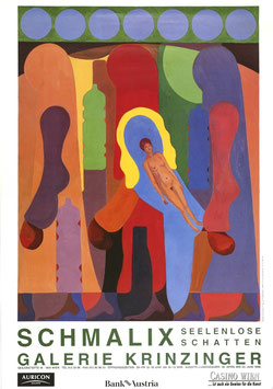 Hubert Schmalix - Seelenlose Schatten, Poster 1996 2 (2 Versionen)