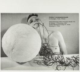 Rudolf Schwarzkogler - Texte - Fotografien - Zeichnungen, Poster 1976.