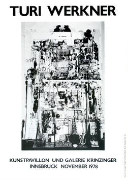 Poster (Werkner - Turi Werkner - Ausstellung) 1978.