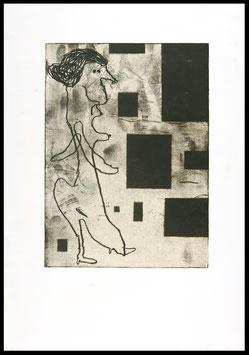 Donald Baechler - Family I (Edition / Art print 1986).