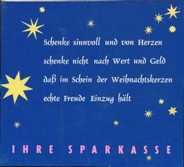 Poster (Traimer - Heinz Traimer: Schenke sinnvoll und von Herzen   - ) Original Druck von 1959.