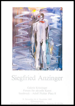 Poster (Anzinger - Siegfried Anzinger) 1982.