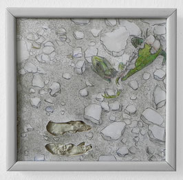 Artwork / Original: Riepler (Linus Riepler - Toter Gecko) 2018.