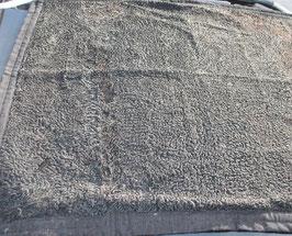 Pelz-Decke aus Persianer in Schwarz [151019j]