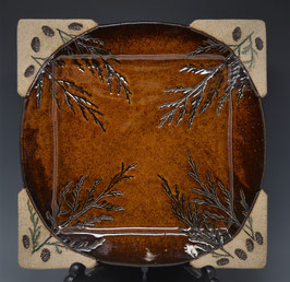 "11"" Dinner/Serving Plate Square"