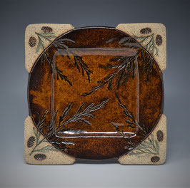 """7"""" Appetizer Plate Square"""