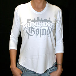 3/4 Arm Shirt - Skyline/Grau