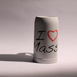 Masskrug - I LOVE MASS
