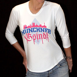 3/4 Arm Shirt - Skyline/Blau