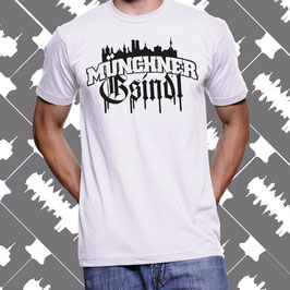T-Shirt - Buam - Skyline - Weiß