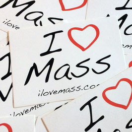 Sticker - I LOVE MASS