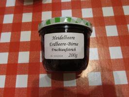 Heidelbeer-Erdbeere-Birnen Fruchtaufstrich 200g