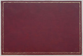 Leder Schreibunterlage im antiken englischen Stil mit Prägung A529r