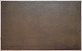 Leder Schreibunterlage im antiken englischen Stil mit Prägung  A593g