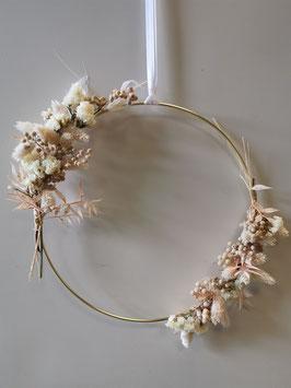 Trockenblumen Kranz Nr.4