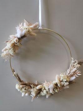 Trockenblumen Kranz Nr.3