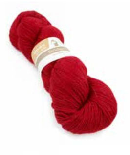 Strickwolle rot