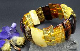 Natur-Bernstein Armband. UNIKAT. Nr. 19