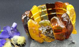 Natur-Bernstein Armband. UNIKAT. Nr. 18