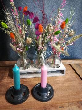 Droogbloemen en kunstbloemen
