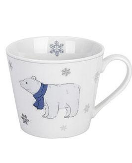 Krasilnikoff Tasse mit Henkel Nostalgic Bear