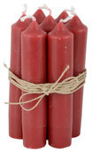 IB Laursen Stabkerzen Set rot