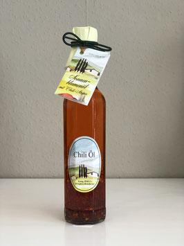 Essig, Öl & Co. Sonnenblumenöl mit Chili - Stripes