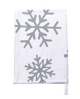 Krasilnikoff Geschirrtuch Big Snowflakes