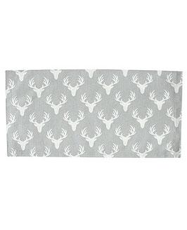 Krasilnikoff Napkin White Antlers