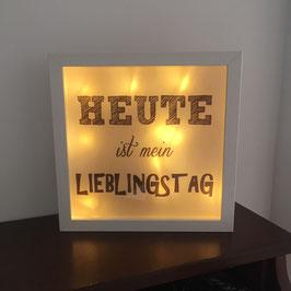 """LED Bilderrahmen """"Lieblingstag"""""""